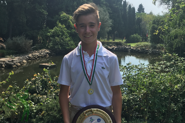 Tomy Artigas campeón en el Open de Italia 2016 M