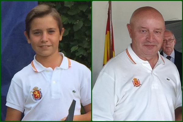 Tomy Artigas y Andrés Pastor representarán a España en St Andrews en la I Copa del Mundo de P&P