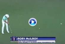 ¡Golf en estado puro! Disfruten de los 10 mejores golpes de los PlayOffs de la FedEx Cup 2016 (VÍDEO)