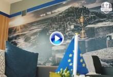 """""""Una unidad, un equipo"""". El vestuario europeo, listo para que dé comienzo la semana grande (VÍDEO)"""