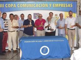 Costa Blanca como destino turístico de golf, eje central de la Copa Comunicación y Empresas
