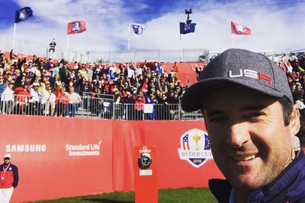 El golfista de Florida vivió uno de sus mejores momento de su carrera actuando de vicecapitán. Foto: @bubbawatson