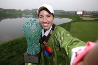 El Tour LPGA cerró la temporada. Estos fueron los selfies de todas sus campeonas (FOTOGALERÍA)