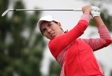 Carlota Ciganda se asoma al Top 20 del Open de Australia con la vista puesta en la líder Smith