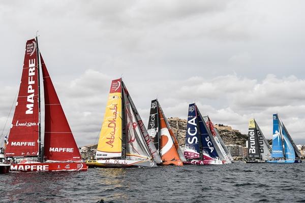 Comienza la cuenta atrás para la salida de la Volvo Ocean Race 2017/2018