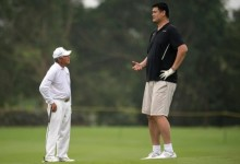 El asalto a la muralla china o cuando Gary (1,68m.) conoció a Yao (2,29m.) en la previa del HSBC