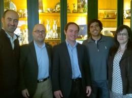 La Fundación Seve Ballesteros acerca el golf a la zona infantil del Hospital Valdecilla