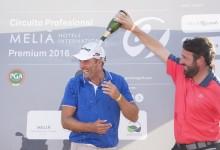 José Luis Adarraga gana el Gran Premio Ciudad de Logroño. Venció con uno de ventaja sobre Legarrea