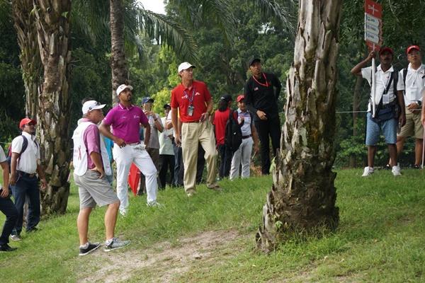 El golfista asiático sufrió un déjà vu con lo vivido hace solo siete días en Macao. Foto: @PGATour