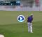 El Golf es duro: Leishman, 54 del mundo, chipeó muy cerca del green pero se fue al agua (VÍDEO)