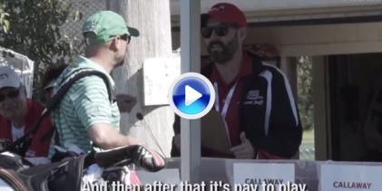 DeChambeau, Bryan… Rookies del PGA sufrieron las novatadas en su primer torneo (VÍDEO)