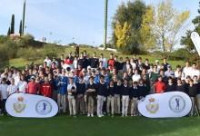 El programa «Golf en Colegios» de la Fed. de Madrid continúa imparable. Nace el Circuito Interescolar