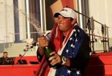 Reed dejó pasar el alcohol en la celebración de la Ryder después del desfase en la Presidents Cup