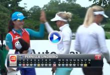 El Hoyo en Uno de Lindberg encabeza el Top 5 de los mejores golpes en el Sime Darby LPGA (VÍDEO)
