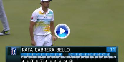 Uno de Uno: Cabrera-Bello suma su primer Top 10 del año en el PGA con golpes como este (VÍDEO)