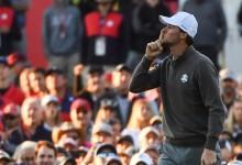 Mucho golf, poco señorío. Las gradas del Team USA la tomaron con Rory, Sergio y Thomas Pieters
