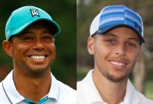 Codo con codo: Tiger Woods y Stephen Curry compartirán Pro-Am en la previa del Safeway Open