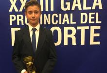 El golfista Tomy Artigas, elegido Mejor Deportista Promesa de la provincia de Alicante de 2015