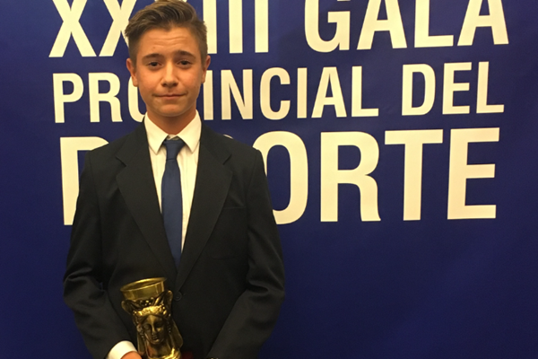 Tomy Artigas, mejor Deportista Promesa de la Provincia de Alicante 2015
