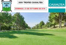 El Altea Golf Club se viste de gala el 23 de Octubre para acoger la XXIV Edición del Trofeo Caixaltea