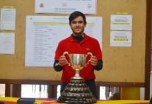 El malagueño Ángel Hidalgo, brillante campeón en la prestigiosa Copa Nacional Puerta de Hierro