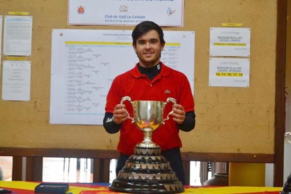 Ángel Hidalgo, campeón de la Copa Nacional Puerta de Hierro 2016