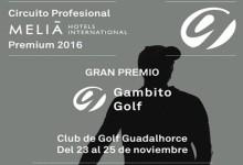 Un centenar de jugadores despiden el Circuito en Guadalhorce con el Gran Premio Gambito Golf