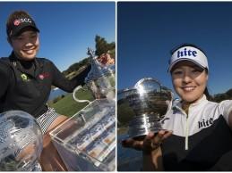 Jutanugarn y Gee Chun se reparten los títulos en la final LPGA, pero el millón de $ es para la tailandesa