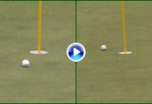 Manassero y Walker se quedaron a cuatro dedos de hacer Hoyo en Uno en la Copa del Mundo (VÍDEO)