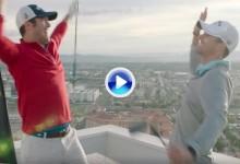 ¡Todo o nada! Los Bryan Bros. volvieron a la acción en Las Vegas con un Trick Shot de altura (VÍDEO)