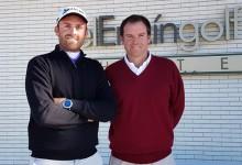 Carlos Sánchez y Simón Sainz mandan en la final del Circuito de Madrid de Profesionales en El Encín