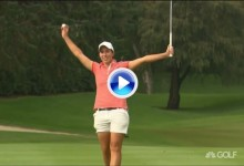Unas imágenes para la historia: Así ganó Carlota Ciganda su segundo título en el Tour LPGA (VÍDEO)