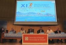 Costa Blanca difunde en la UA, ante expertos de todo el mundo, su oferta de turismo deportivo