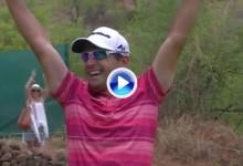 ¡¡Boooommm!! Hoyo en Uno del paraguayo Fabrizio Zanotti desde casi 200 mts. con un hierro 7 (VÍDEO)