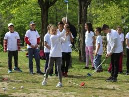 """El programa """"Golf en Colegios"""" de la Federación de Madrid ya alcanza a 7.200 alumnos de 47 centros"""