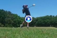 Este niño australiano tiene solo cuatro años pero cuenta con un swing increíble y envidiable (VÍDEO)