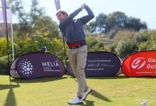 El madrileño Javier Gallegos mantiene el liderato en el Gran Premio Gambito Golf de Guadalhorce