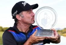 Rahm roza el T10 en Las Vegas el día que Pampling volvió a brillar en el PGA tras más de una década