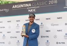 Samuel del Val se mete media tarjeta del Web.com en el bolsillo con su 1ª victoria en el PGA Tour LA
