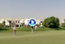 Sergio García se sacó de la chistera este eagle para asaltar las primeras plazas en Dubái (VÍDEO)