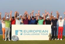 Pep Anglés sella el pasaporte al European Tour tras una jornada de auténtica angustia en el Challenge