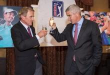 Monahan, a favor de que el Torneo de Campeones se dispute entre golfistas del PGA y la LPGA