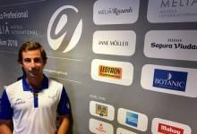 El madrileño Javier Gallegos, primer líder del GP Gambito Golf que se celebra en Guadalhorce