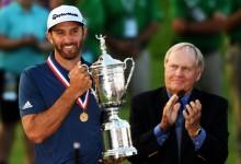 Tras Augusta, el US Open: A dos meses vista, DJ es el claro favorito para sumar su 2ª consecutiva