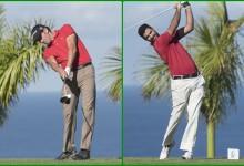 Gª-Heredia y Tarrió comparten liderato en la Gran Final Meliá Hotels Int. de Gambito Golf en Tenerife