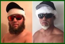 Beef no descansa ni en final de año. Intentó imitar a Tiger en su ya célebre «Mac Daddy Santa»