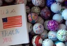 Terry Graves, de recoger pelotas perdidas por hobby a iniciar con ellas un proyecto solidario