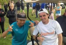 Un neozelandés estableció el récord mundial de hoyos jugados en 12 horas por una buena causa
