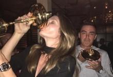 """Cindy Crawford y su """"chupito"""" de tequila, grandes protagonistas en la fiesta de cumpleaños de Fowler"""