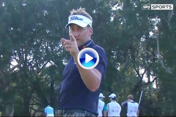 El Golf es duro: Poulter se encara con un cámara de TV tras anotar un penoso cuádruplebogey (VÍDEO)